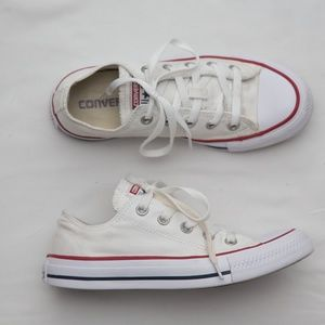 Converse all star chuck taylor low top white